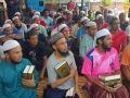 زيارة وفد إغاثي للاجئين الروهنجيين في أحد السجون بجنوب تايلند