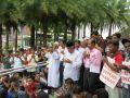 مئات الروهنجيين في ماليزيا يدعون للروهنجيين بعد صلاة عيد الأضحى المبارك