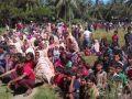 نزوح المئات من مسلمي الروهينجا الى بنجلادش هربا من جيش ميانمار