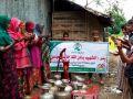 """بئر باسم الإعلامي """"خالد العيسى"""" على حدود بنغلادش- بورما"""