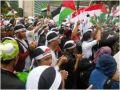 إندونيسيا :المسلمون يطالبون بإيقاف الوحشية الإسرائيلية ضد الفلسطينيين