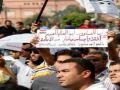 مسيرة تتجة إلى سفارة ميانمار ضد إبادة المسلمين