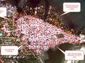 صور الأقمار الصناعية لتدمير قرى المسلمين يثير مخاوف بورما