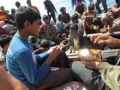 حرس حدود تايلند يوقف سفينة تحمل لاجئين روهنجيين من النساء والأطفال