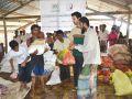 عيد الخيرية: 100 ألف من مسلمي ميانمار إستفادوا من السلة الرمضانية