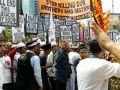 مظاهرات واحتجات أمام سفارة بورما في كوالالمبور
