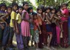 1300 طفل روهنغي يعيشون بلا والدين في مخيمات بنغلاديش