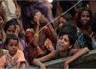 امرأة من الروهينغيا قد اغتصبت بالتناوب من قبل جيش ميانمار وه ...