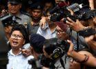 تقرير خاص - هكذا عاقبت ميانمار صحفيين فضحا مذبحة بحق الروهين ...