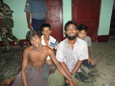 صور: سلطات بورما تقبض على عدد من الروهنجيا