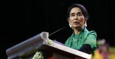 زعيمة ميانمار تندد بكل انتهاكات حقوق الإنسان في ولاية راخين