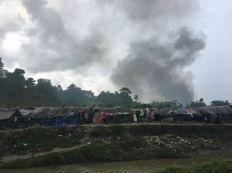هيومن ووتش : الجيش البورمي يحرق منازل قرب حدود بنغلاديش