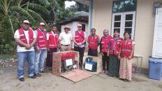 «الهلال الأحمر» ينتهي من تقييم أداء العيادات المتنقلة في ميانمار