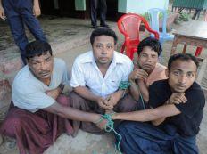 عصابات بوذية تشن حملة اعتقالات واسعة في أراكان