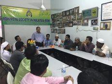 منظمة (RSM) الروهنجية في ماليزيا تعقد اجتماعاً بحضور ناشط حقوقي روهنجي