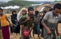 حملة الشيخة فاطمة الإنسانية تكثف مهامها لإغاثة لاجئي الروهينغا