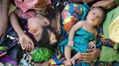 انشاء مساكن جديدة في قرى المسلمين لإسكان البوذيين فيها
