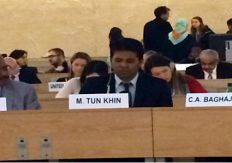 رئيس (BROUK) يطلع مجلس حقوق الإنسان في جنيف بآخر مستجدات الروهنجيا