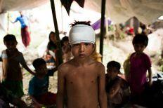 اليونيسف: 12 ألف طفل روهنجي يفرون إلى بنغلاديش أسبوعيا بسبب العنف في ميانمار