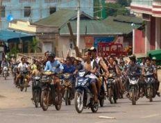 العصابات البوذية تخطف ثلاثة فلاحين روهنجيين في قرية بأراكان
