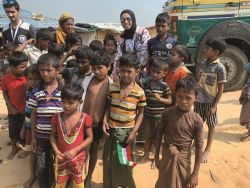«النجاة» قدمت مساعدات لـ 5 آلاف لاجئ روهينغي