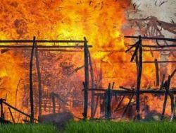 رايتس ووتش: إحراق 62 قرية و900 مبنى للروهينغا في ميانمار