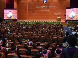 محادثات سلام تاريخية مع ممثلي قبائل عرقية في ميانمار