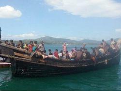 الشرطة البحرية التايلندية تعيد 145 لاجئاً روهنجيا إلى البحر