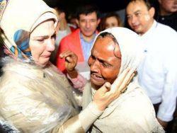 السيدة الأولى في تركيا تتحدث بحرقة عن زيارتها لأراكان