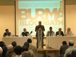 الروهنجيون في بريطانيا يقيمون ندوة عن انتهاكات حقوق الإنسان في ميانمار