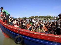 إنقاذ 76 روهنجياً في أتشيه الإندونيسية