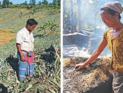 صراع عرقي في بنجلاديش يؤدي إلى إحراق قرية بوذية بكاملها