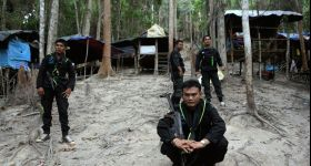 Rohingya found abandoned in forest a year on from Thai crackdown