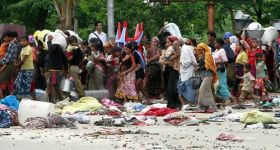What is happening against Muslims in Burma?