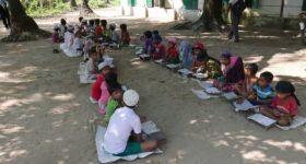 No education for Rohingya children in Maungdaw