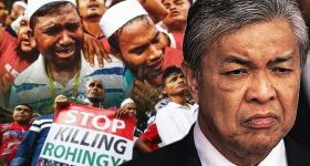 Zahid: M'sia won't sit still while Rohingya are murdered