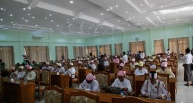 Arakan State Parliament approves refugee assistance