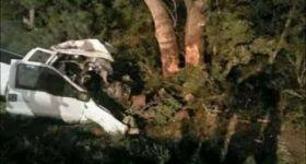 Pickup truck crash injures 19 Rohingya