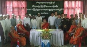 Rakhine State CM and Abbot of Sitagu Organize Fake Relief Distribution for Rohingya Victims