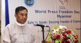 Myanmar's Information Minister Out in Reshuffle Amid Press Crackdown