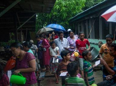 مسلمو ميانمار يصومون شهر رمضان في البرد والعراء