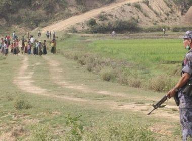 بلدة منغدو بولاية أراكان في ظروف مأساوية وحصار خانق