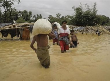 Aid shipment disturbed by Buddhist mob in Myanmar west