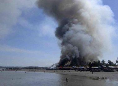 مقتل 5 مدنيين في اشتباكات بين جماعة انفصالية وجيش ميانمار