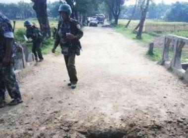 إصابة جنديين في ميانمار خلال اشتباك مع متشددين في ولاية راخين المضطربة
