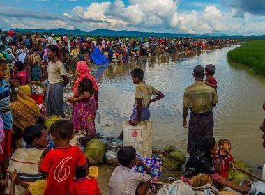 طفلة روهنغية تستنجد بالأمم المتحدة لإنقاذ أقرانها بمخيمات بنغلاديش