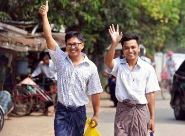الحملة العالمية تنجح بالضغط على ميانمار للإفراج عن صحافيي رويترز