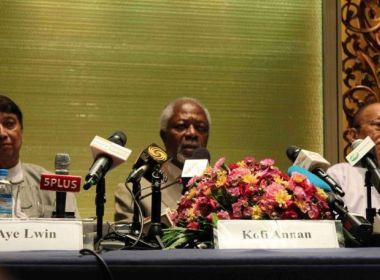 """الأمم المتحدة تأمل في نتائج إيجابية لزيارة """"كوفي عنان"""" لميانمار"""