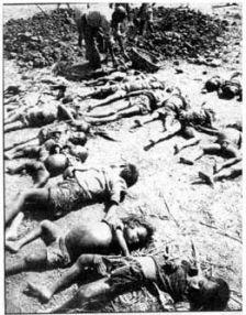 أطفال في مذبحة 1942م