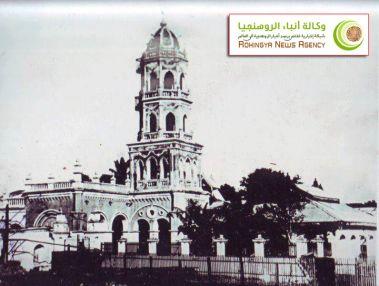 مسجد بني في أراكان قديماً